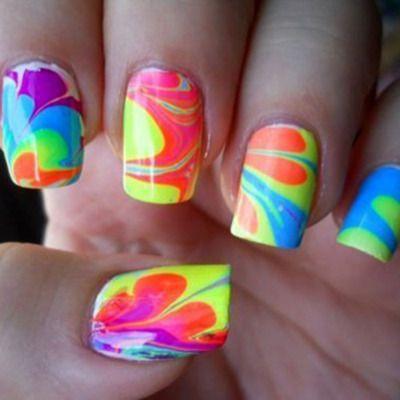 color explosion nails