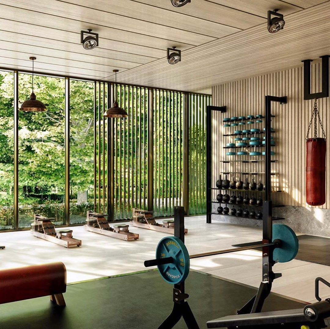 """LUCAS HUGH on Instagram """"Home gym inspiration. This beautiful one ..."""