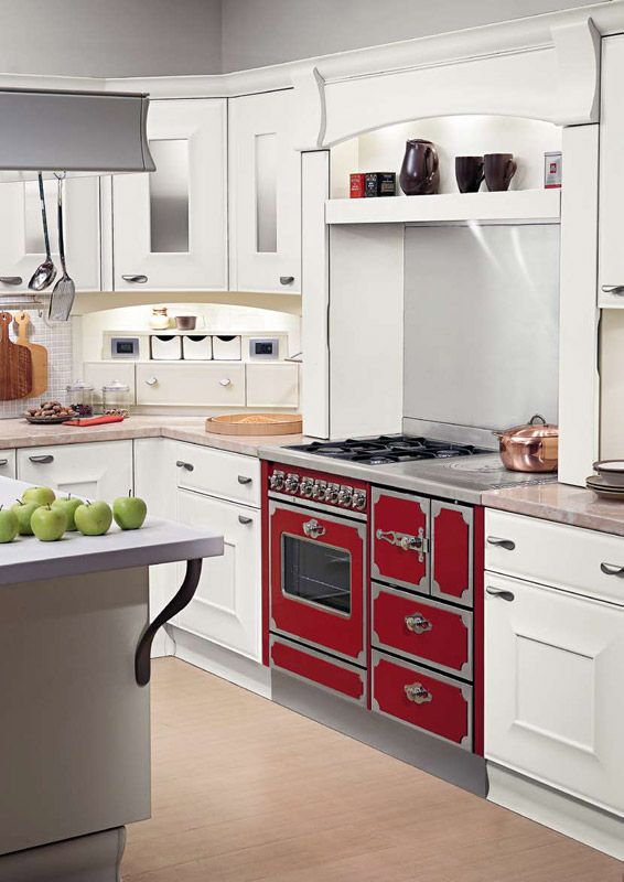 Dalla combinazione di un modello a legna e una cucina a gas nasce il ...