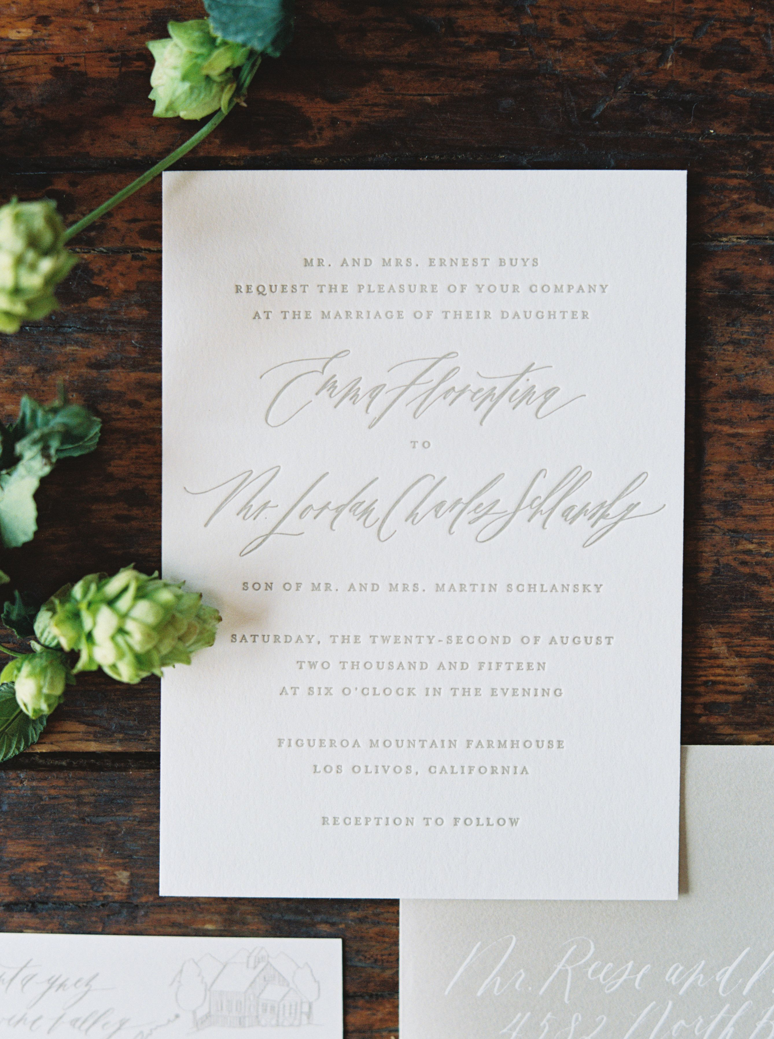 Calligraphy and Design by: Written Word Calligraphy // Erich McVey ...