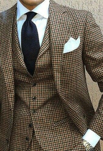 If In Doubt Wear Tweed Men S Apparel Pinterest Mens Suits