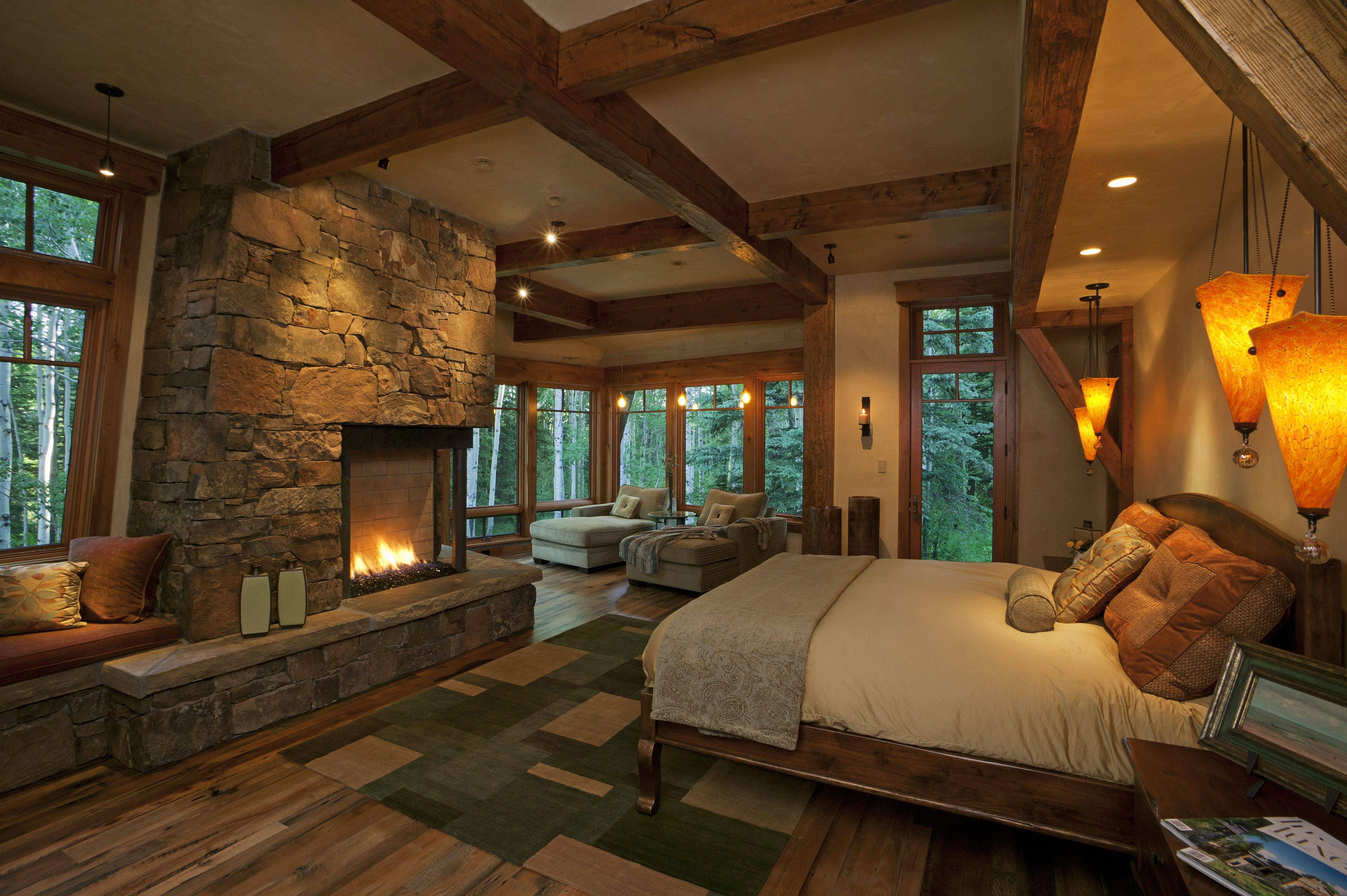 Cabin Bedroom Decorating Ideas Home Design Log BedroomsRustic