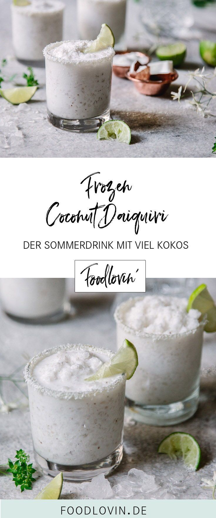 Frozen Coconut Daiquiri