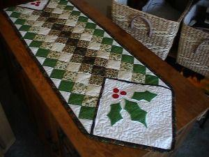 Christmas Table Runner Quilt Kits