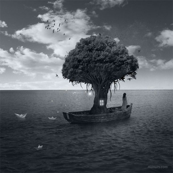 a floating dream