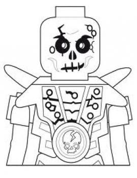 How to Draw Skeleton Warrior, Ninjago, Step by Step ...
