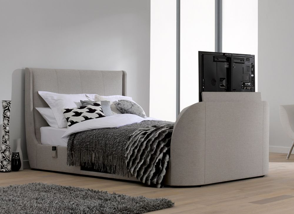 Watch TV in ultimate luxury with one of Dreams' great range of TV beds  featuring built-in top of the line LED screens.