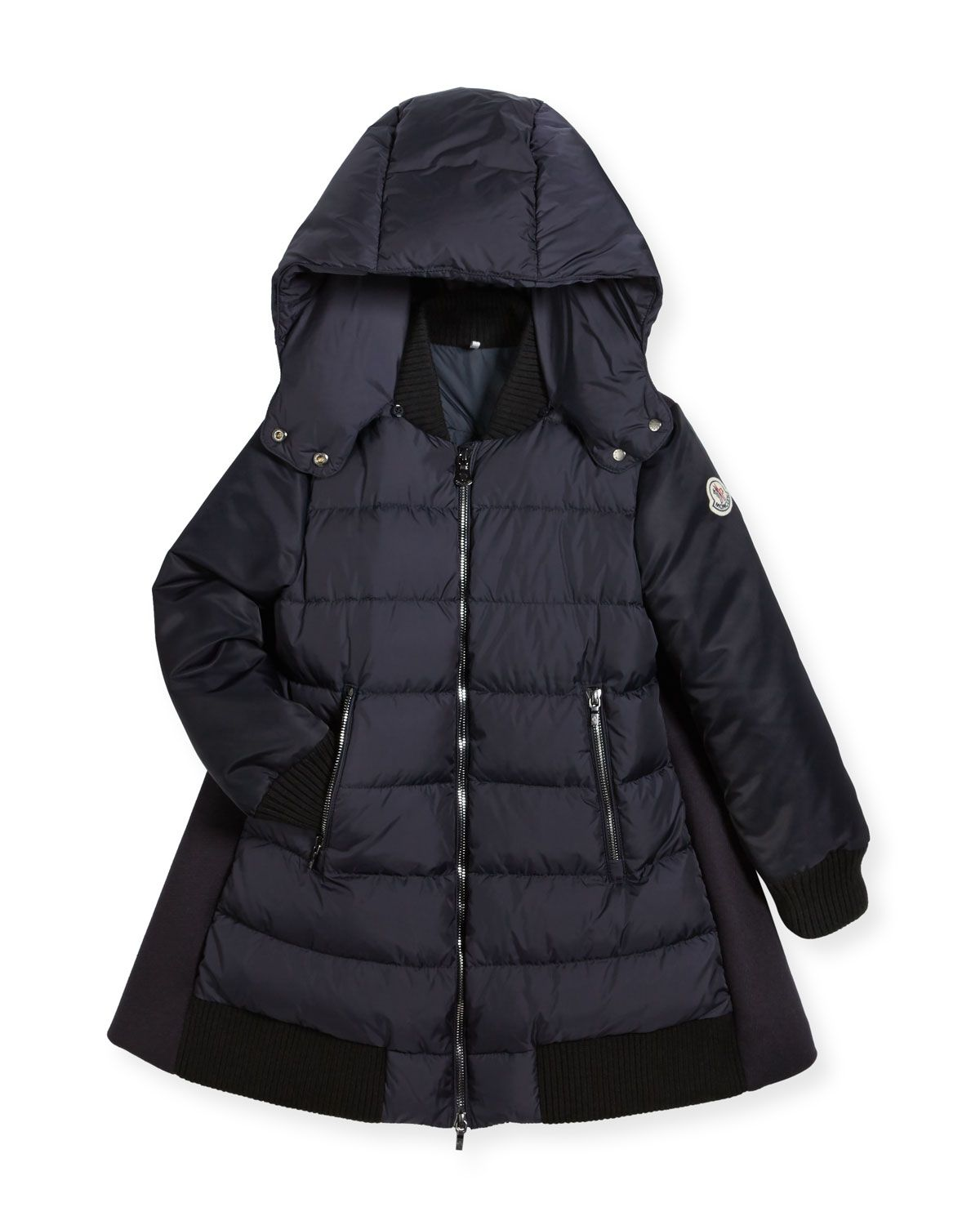 a80fb0f90b0f MONCLER BLOIS QUILTED AND WOOL-BLEND PUFFER JACKET