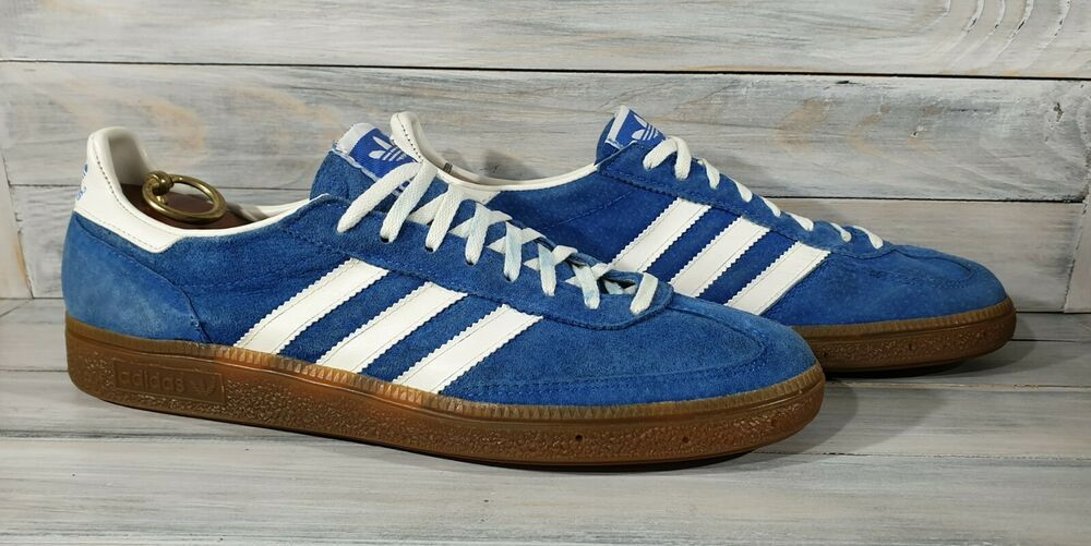 Vintage Shoes Adidas Marathon TR Made in West Germany Blue