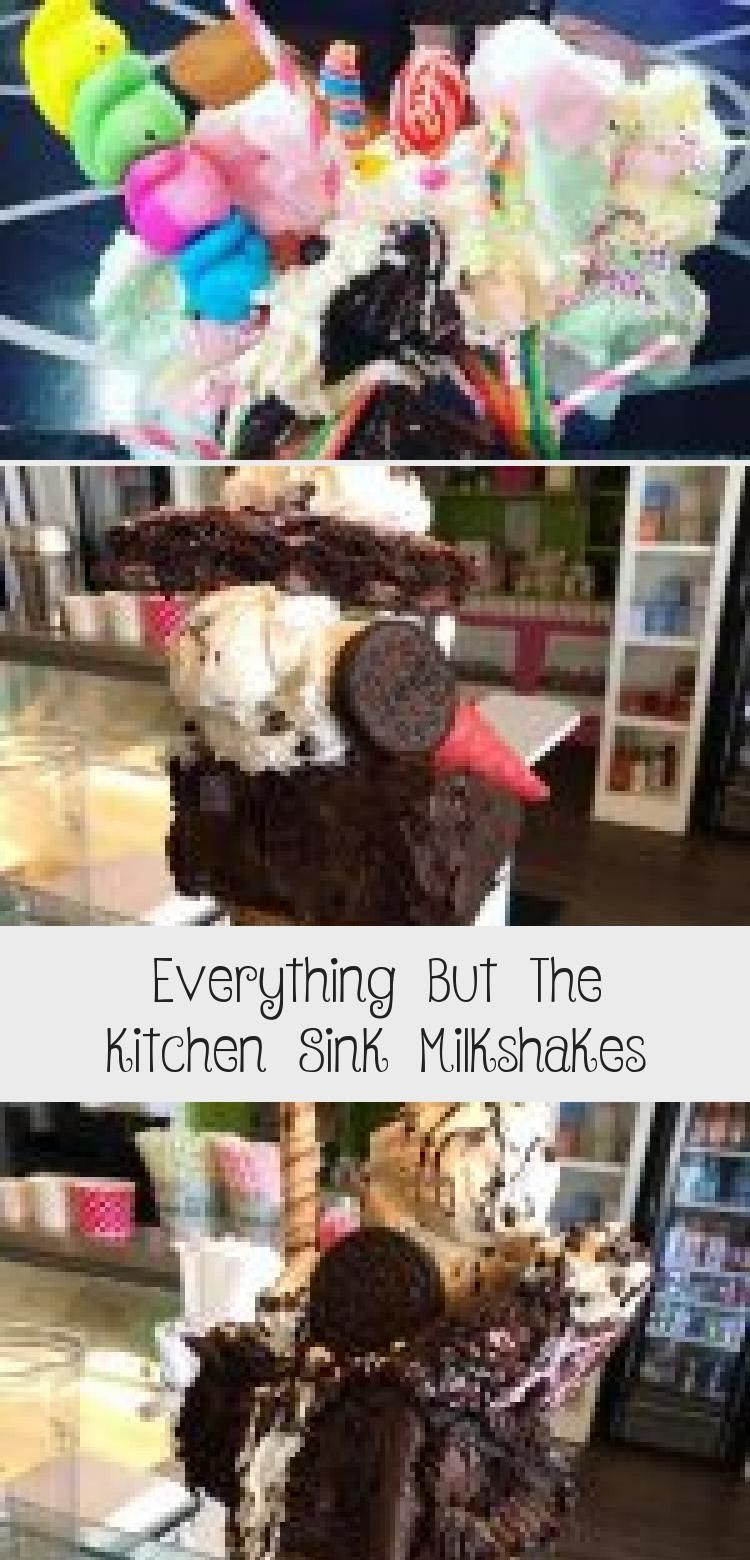 Everything But The Kitchen Sink Milkshakes Recettes Blog Milkshake Ice Cream Sundae Freak Shakes