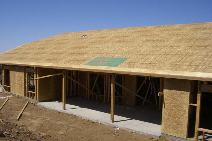 Plywood Roofing