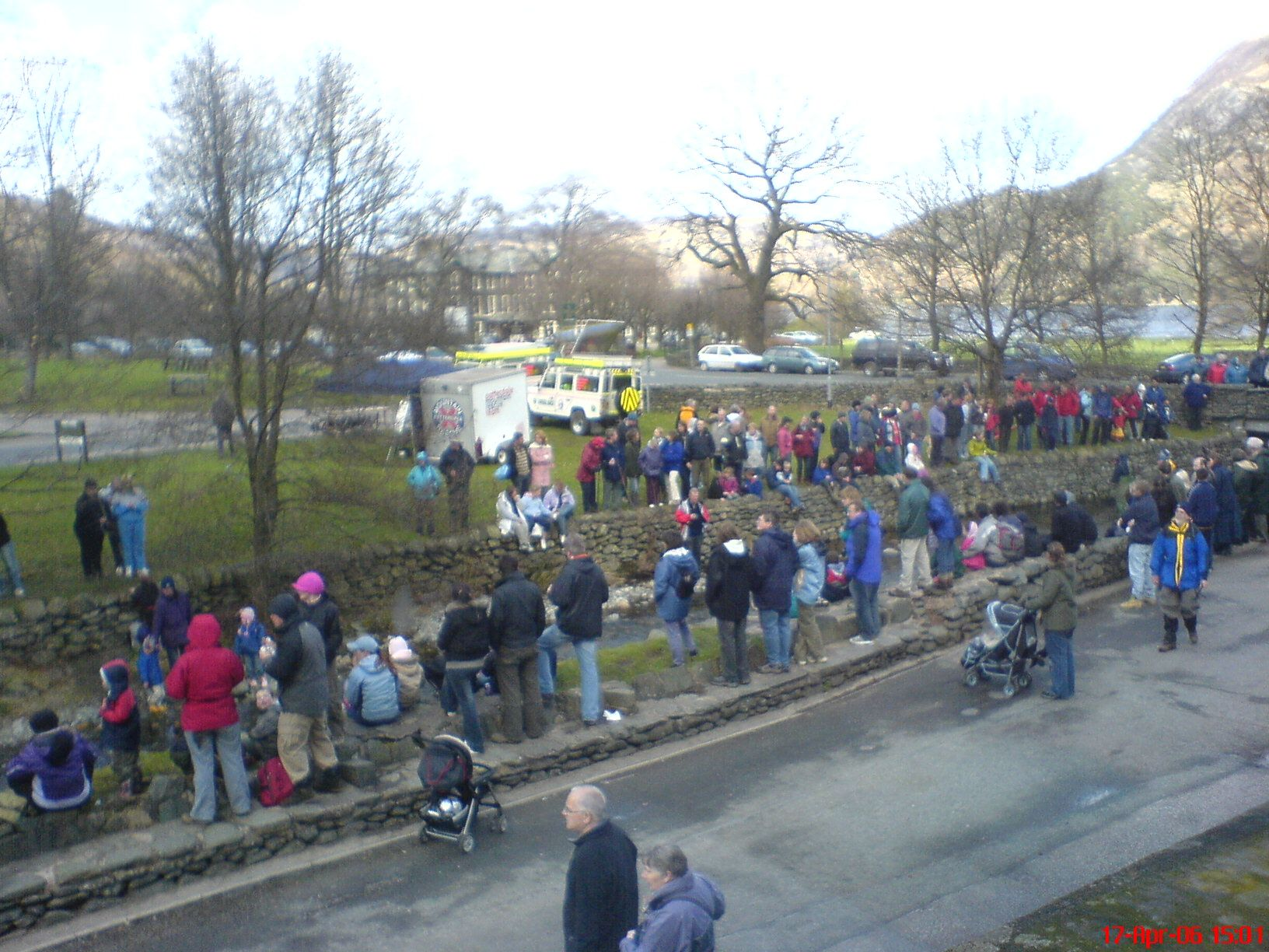 The annual Patterdale Mountain Rescue Duck Race. The most surreal day of the year in Glenridding.