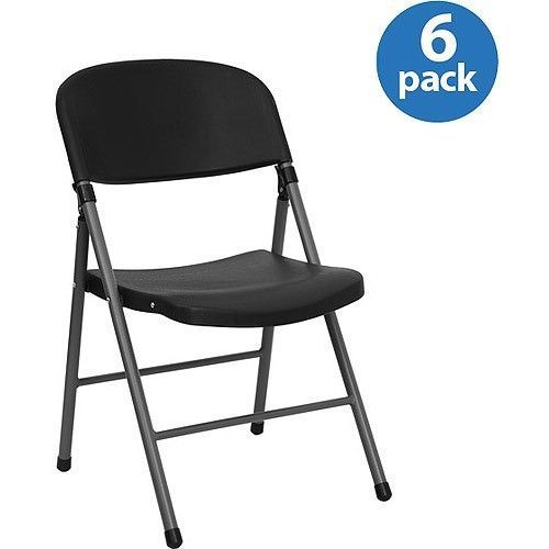 Plastic Folding Chair Set Of 6 Heavy Duty Portable Nesting Home Office  Furniture | Folding Chairs, Office Furniture And Outdoor Living Patios