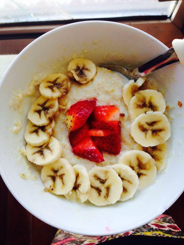 My healthy oatmeal breakfast