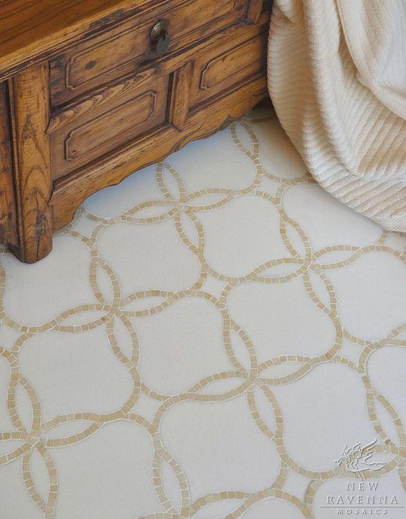 Waverly Stone Mosaic floor