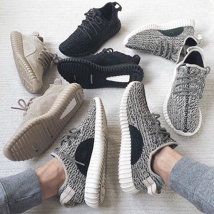Cop a pair of Yeezy 350 Boost's here