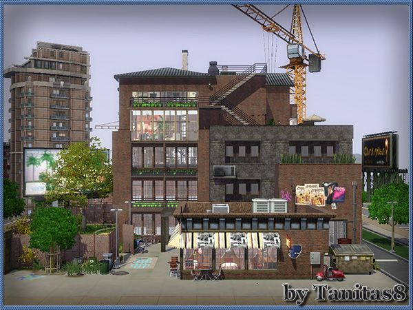 Industrial Loft | Sims Houses & World Inspiration | Sims 3 ...