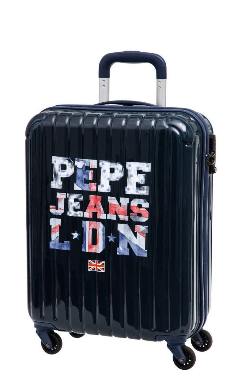320b1b4e0 Maleta Original Pepe Jeans modelo Letters Logo, con tamaño especial de  equipaje de mano, gran calidad de materiales