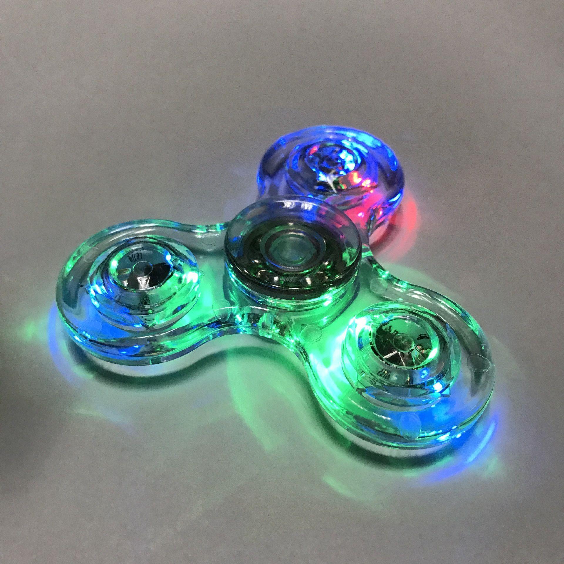 Crystal Plastic Finger Spinner