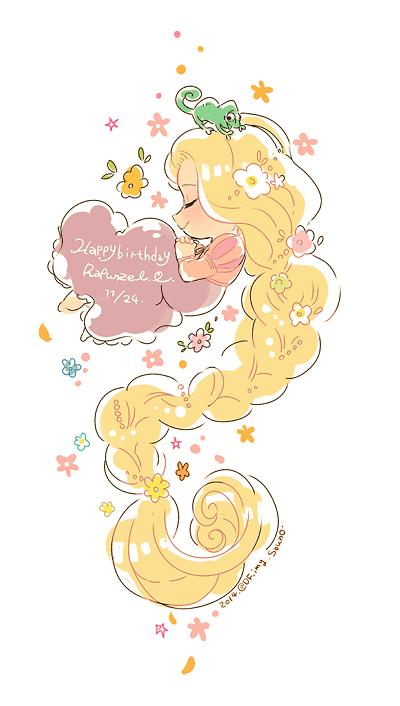 Â�ウノ On Tangled Rapunzel And Princess