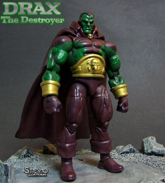 Classic Drax the Destroyer Custom Action Figure