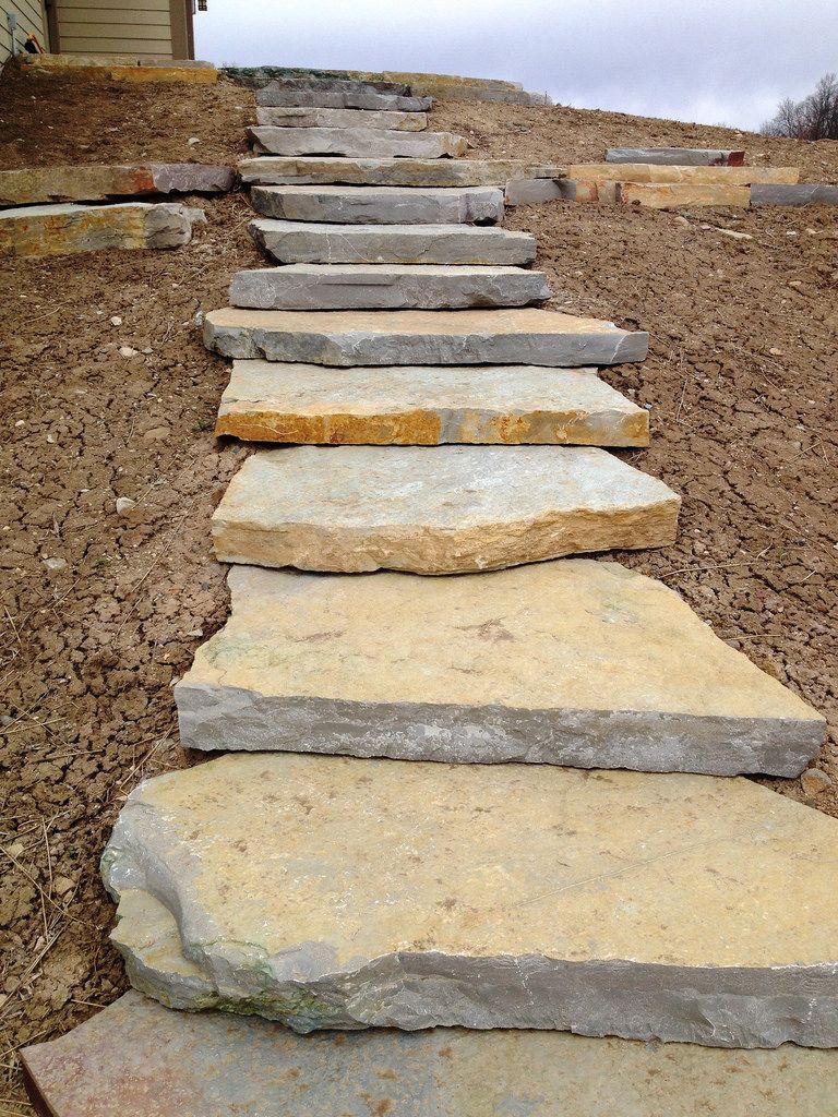 Chilton Outcropping Steps Pebble Garden Stone Exterior Houses Outdoor Stone