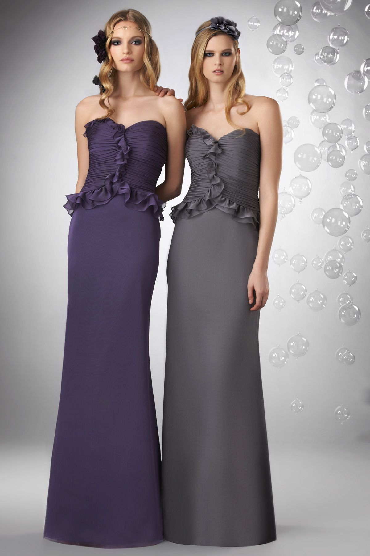 Peplum Bridesmaid Dress Gallery - Braidsmaid Dress, Cocktail Dress ...