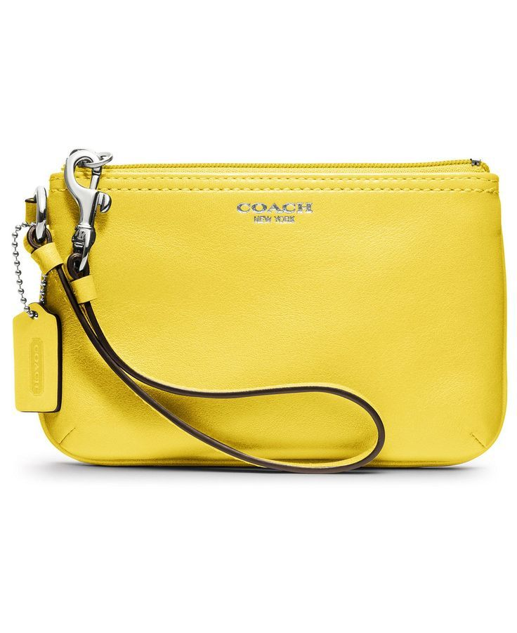 Yellow clutch  cd7faae66fd