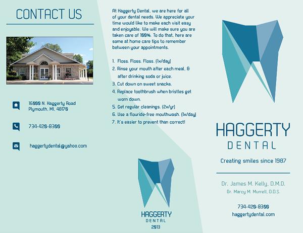 Dental Brochure Design | | Brochure design, Brochure, Dental