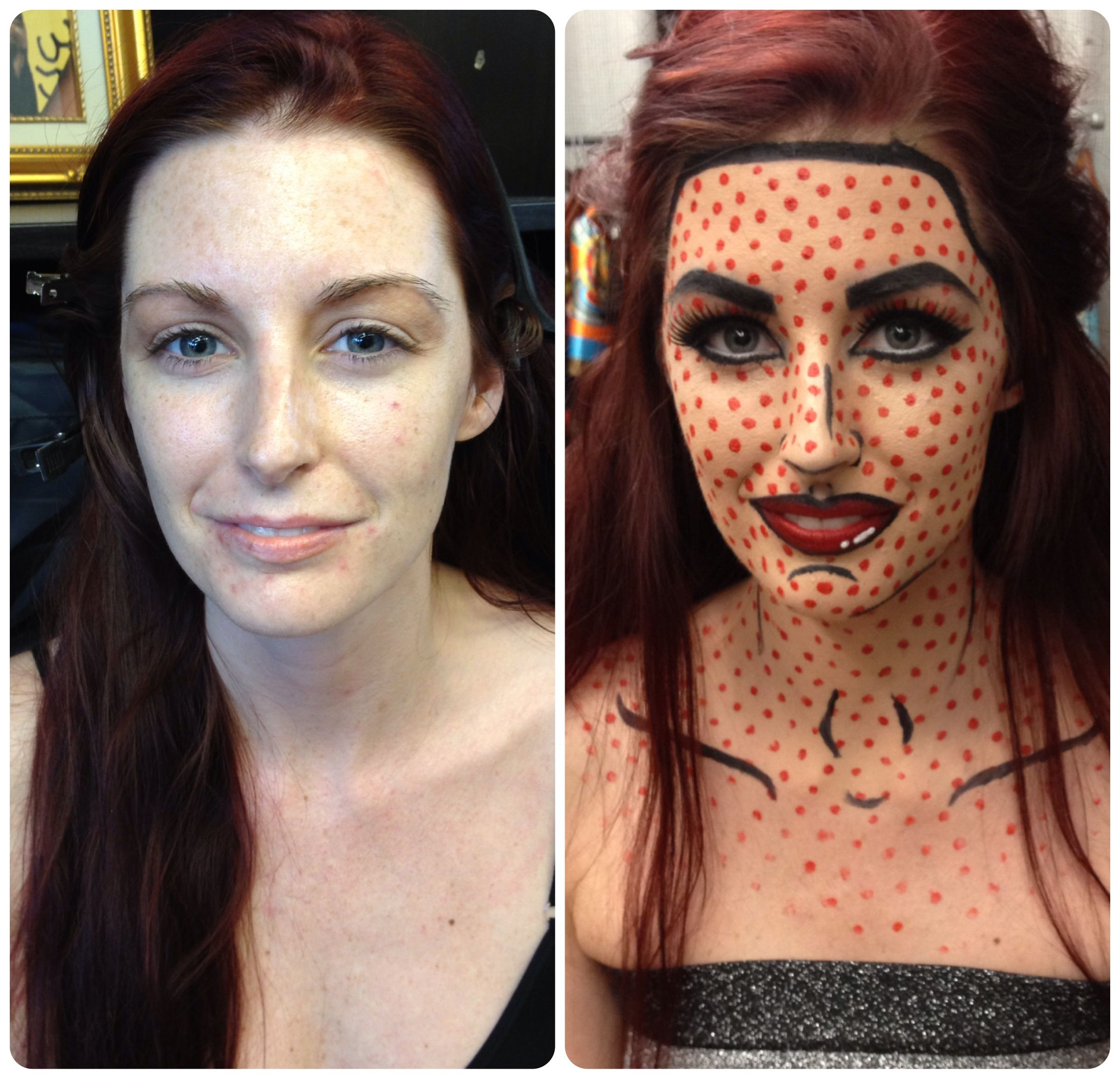 Glamarella Artistry Before & After Professional Makeup
