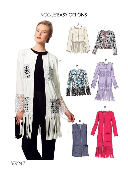 Patterns for Jackets
