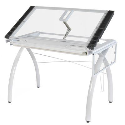 Wonderful The Studio Designs Ponderosa Drafting Table Is A Stylish And Functional  Addition To Your Workplace.