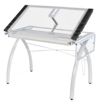 ponderosa adjustable drafting table  craft station
