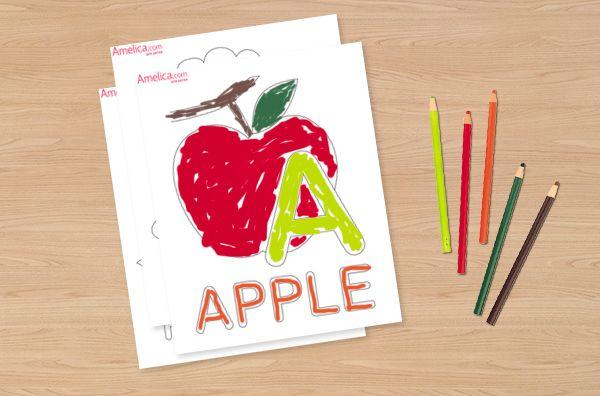 раскраска буквы английского алфавита в картинках ...