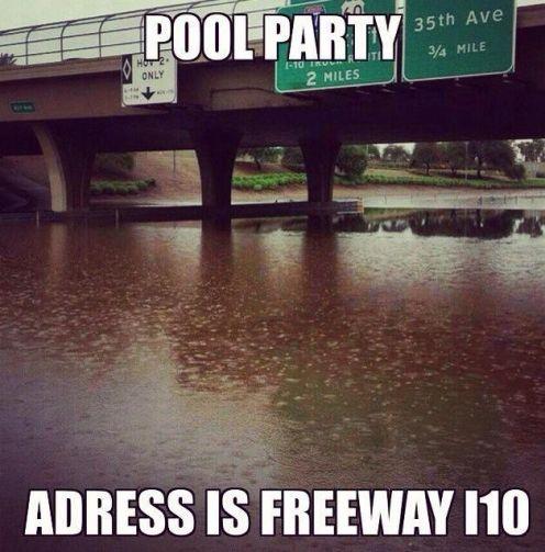 The Best Of Arizona Monsoon Memes 104 7 Kiss Fm Yep Ain T A Dry