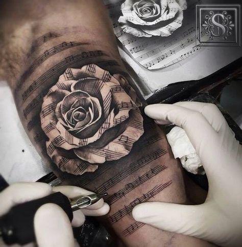 Photo of 31+ Ideas for tattoo music notes lyrics