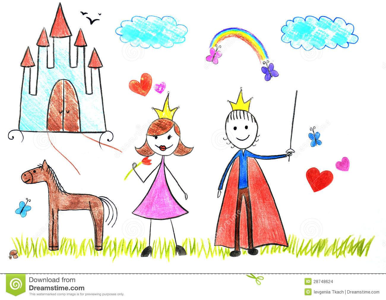 simple kids drawings princess google search - Picture Of Drawing For Kid