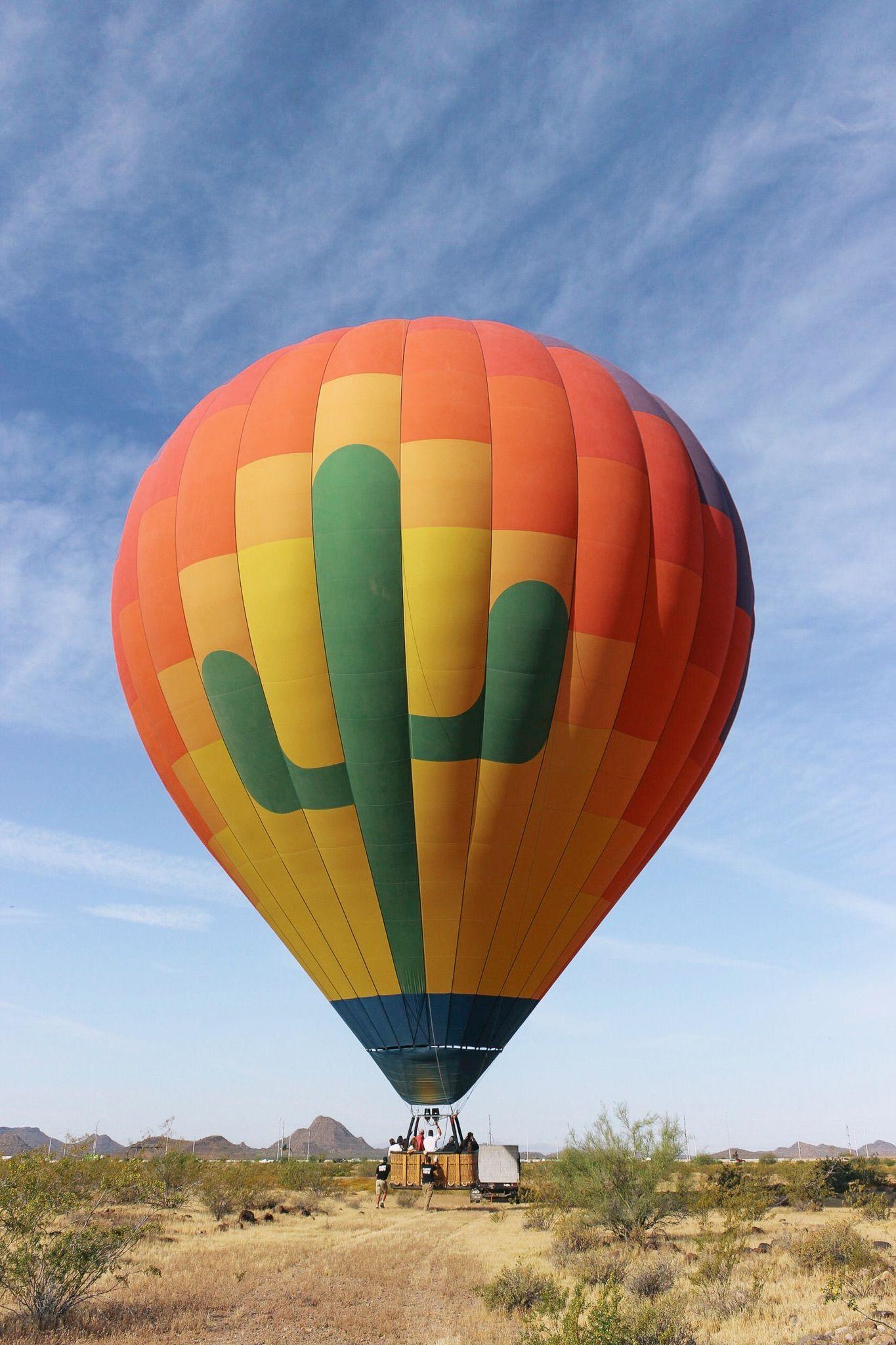 A Sunrise Hot Air Balloon Ride (+ an aviation history