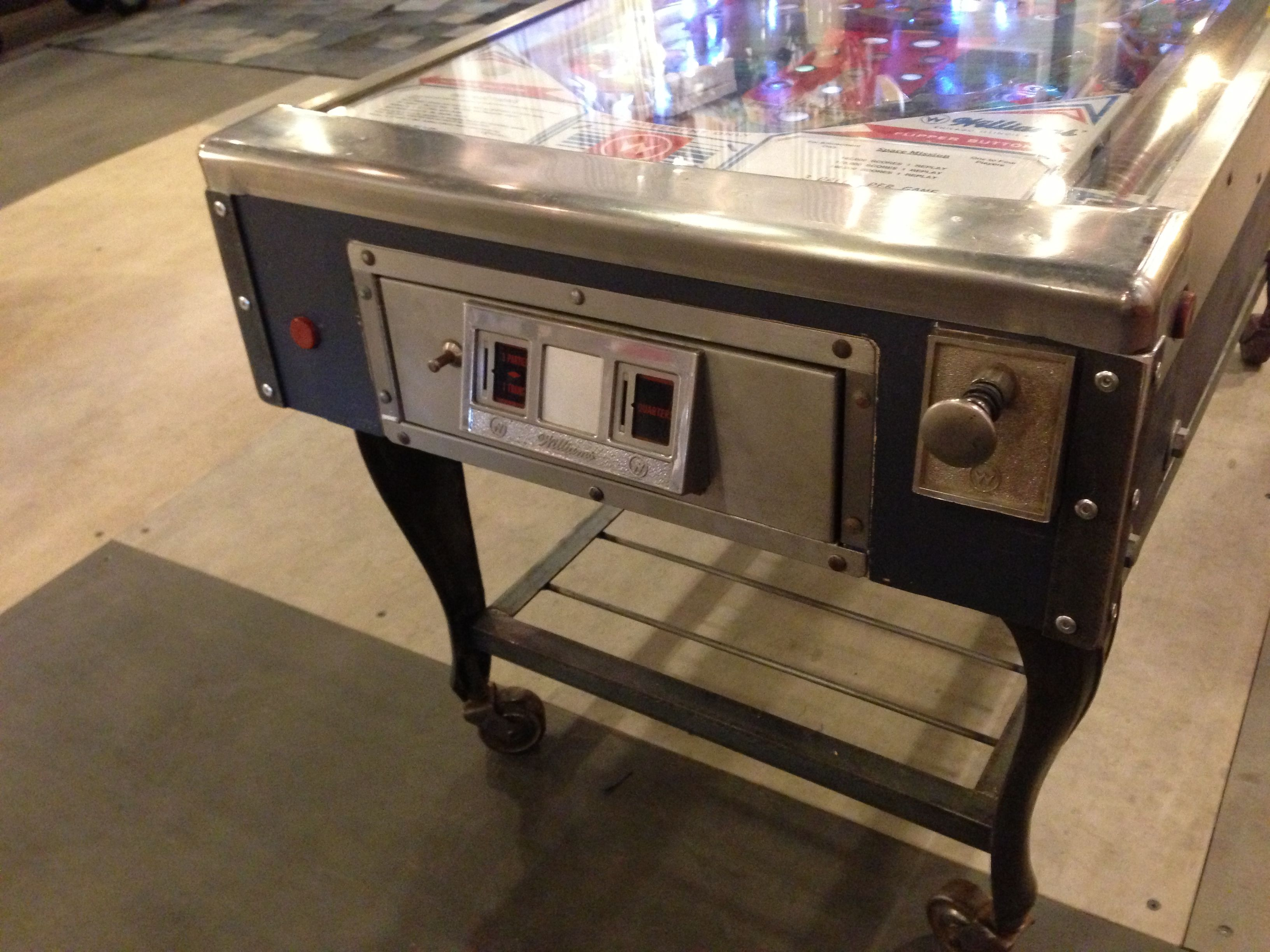 Re Purposed Vintage Pinball Machines coffee tables