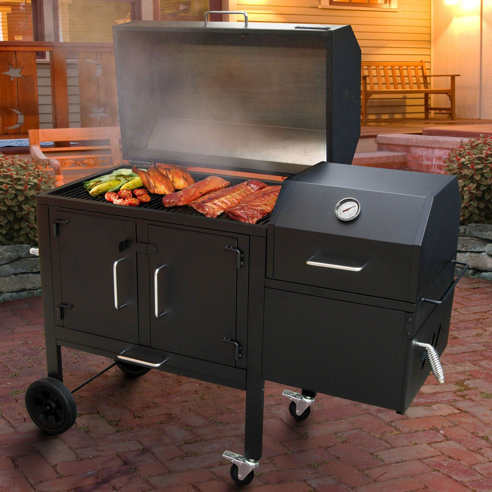 Have to have it landmann black dog 42xt charcoal grill