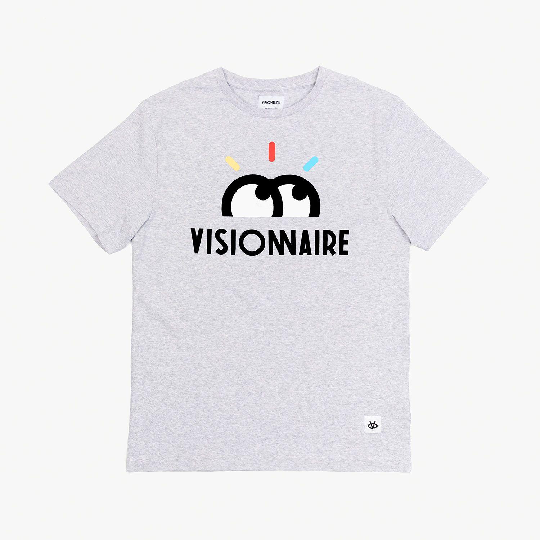 Visionnaire T-Shirt Gris Yeux Bigflo et Oli