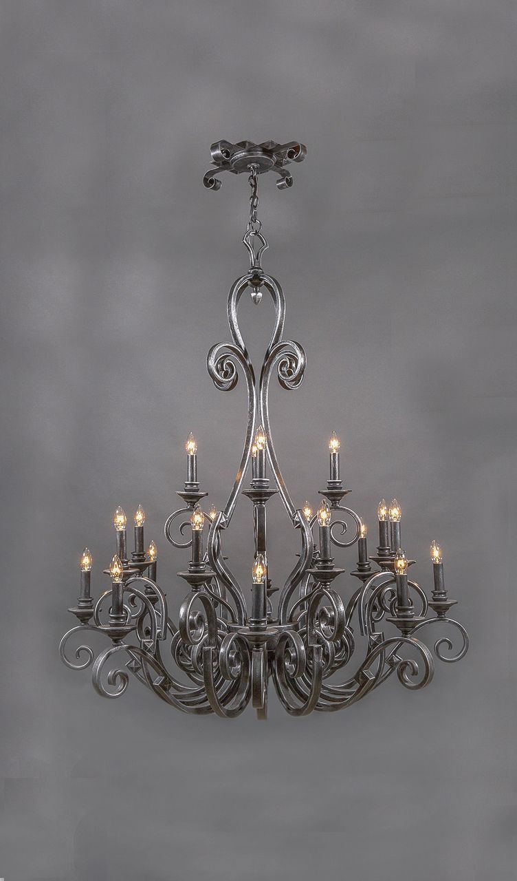 Image 1 In 2020 Wrought Iron Chandeliers Iron Chandeliers