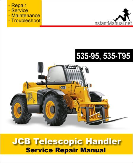 Download JCB 535-95 535-T95 Telescopic Handler Service Repair Manual