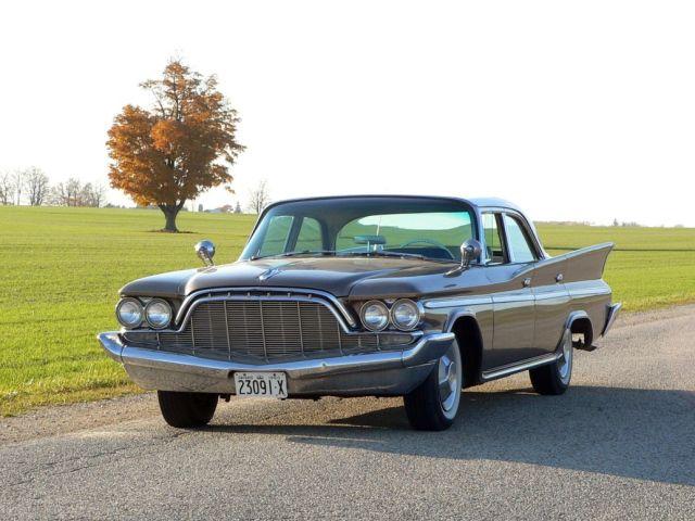 1960 DeSoto Fireflite 4 Door Sedan