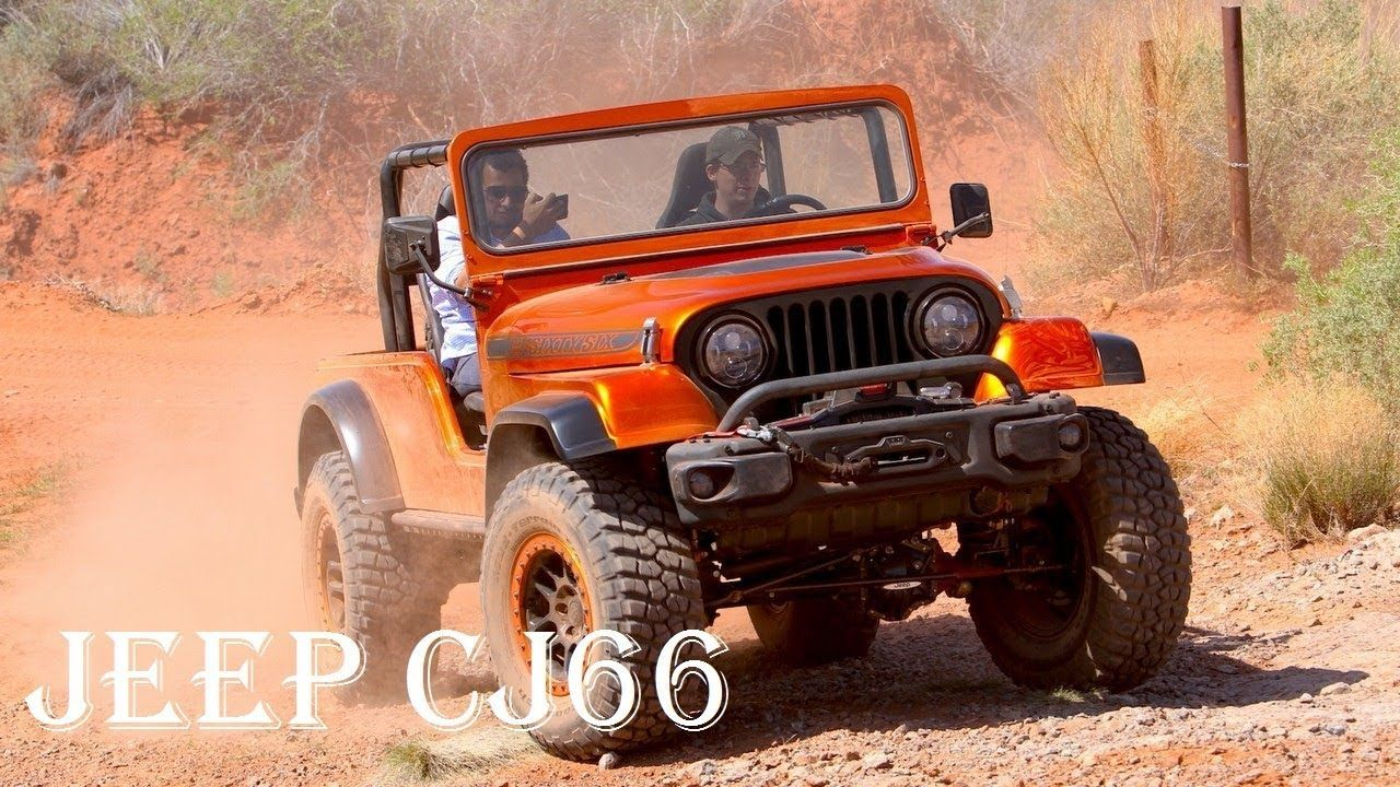 2017 Jeep Cj66 Concept Review Price Engine Off Road Specs