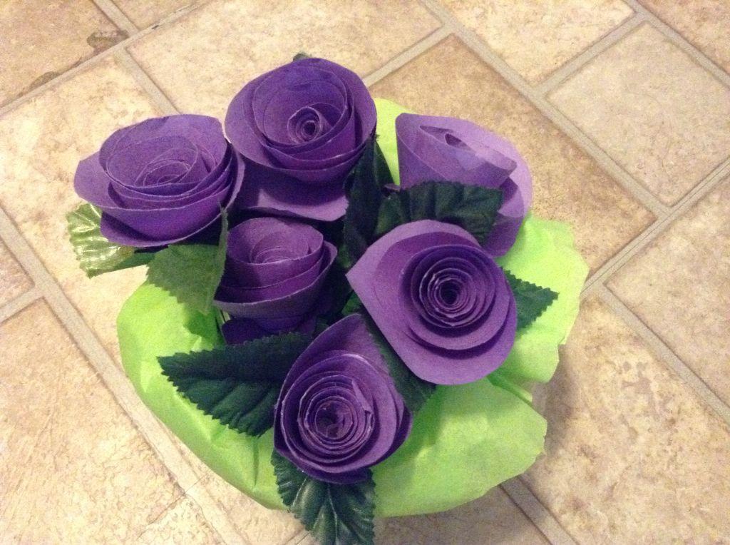 Purple spiral roses Rose, Spiral, Flowers