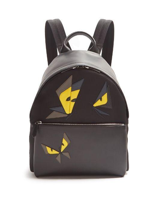 035d67352b80 FENDI .  fendi  bags  leather  lining  nylon  backpacks