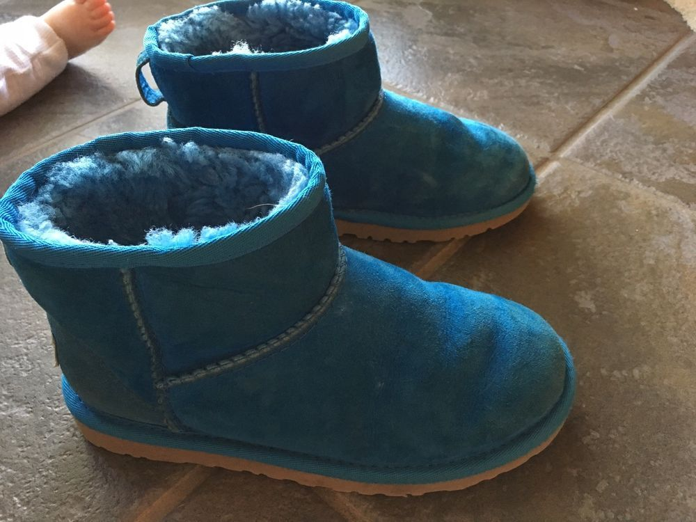 wholesale price amazing price great look Girls Ugg Size 2 Booties Blue #fashion #clothing #shoes ...