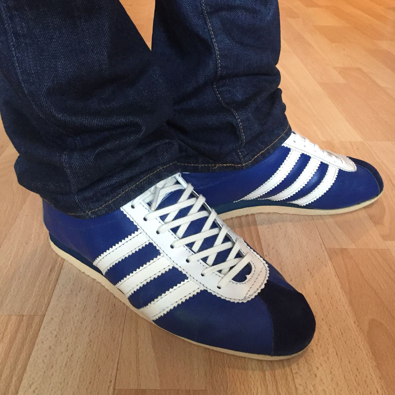 adidas Blue adidas Star Made in France 1974 Blue | | e559902 - allergistofbrug.website