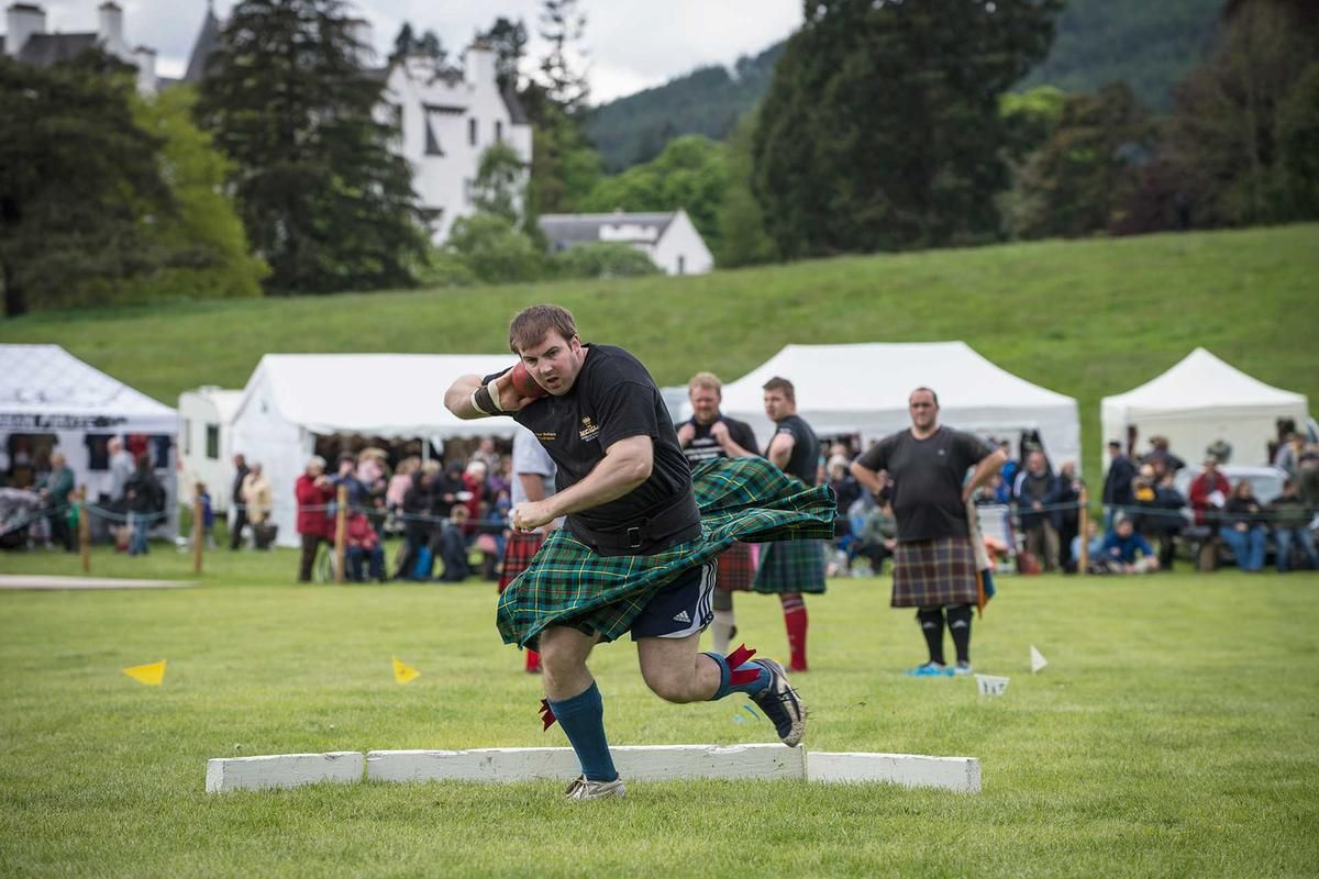 Highland Games in Scotland